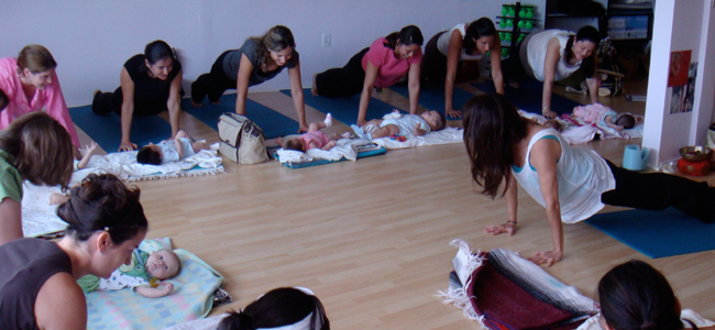 Postnatal with Baby Yoga & Fitness