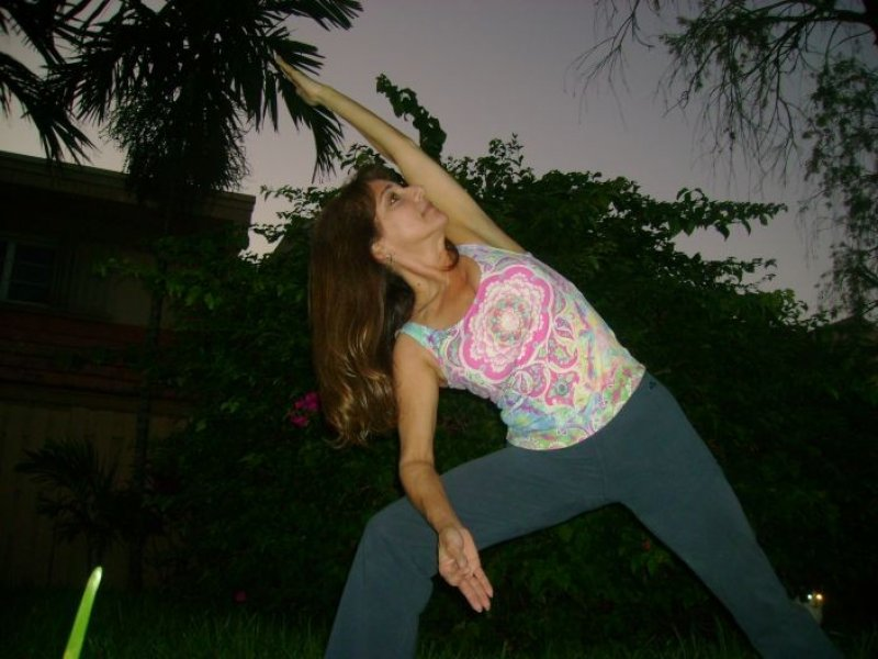 Debra- Yoga Pose