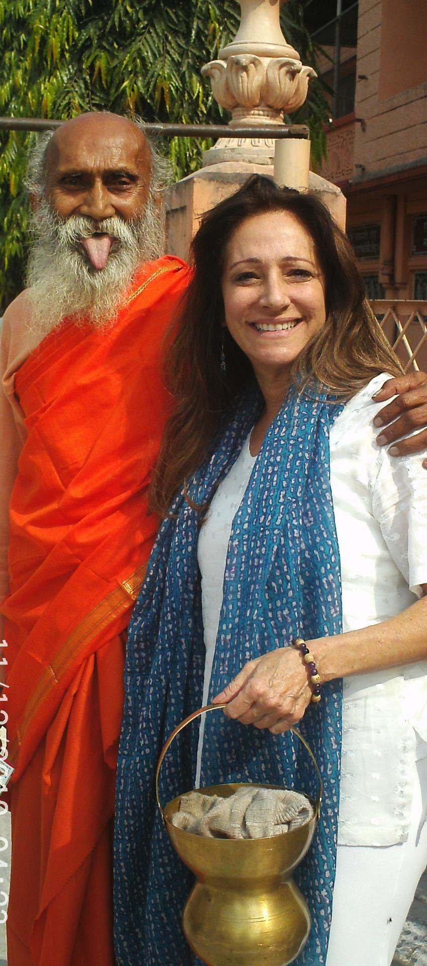 Debra in India